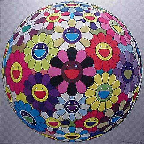 Flowerball Kindergarten by Takashi Murakami at Lieberman Gallery