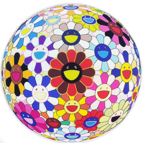 Flowerball (lots Of Colors) by Takashi Murakami at Vogtle Contemporary