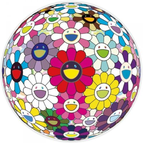 Flowerball (opens Your Hands Wide) by Takashi Murakami