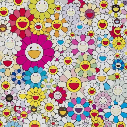 Flowers From The Village Of Ponkotan by Takashi Murakami