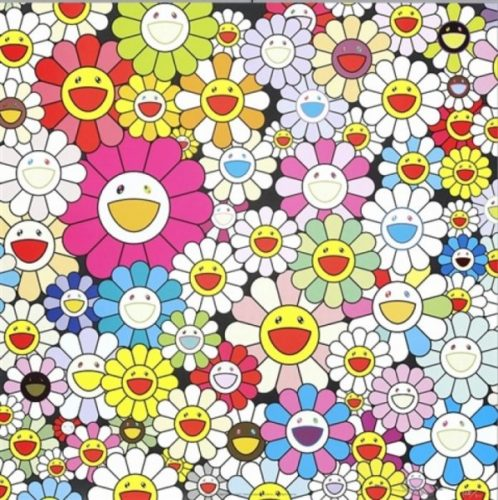 Flowers From The Village Of Ponkotan by Takashi Murakami at Lieberman Gallery