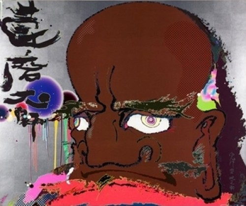 Initiate The Speed Of Cerebral Synapse At Freewill by Takashi Murakami