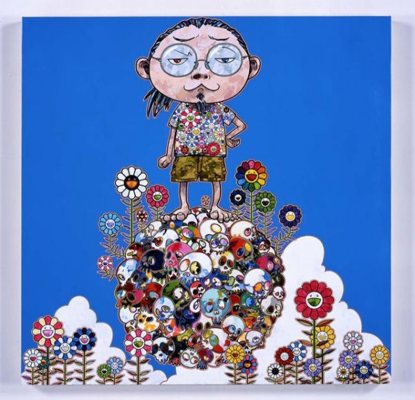 Me Among The Supernatural by Takashi Murakami