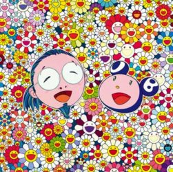 Me and Mr. Dob by Takashi Murakami at Vogtle Contemporary