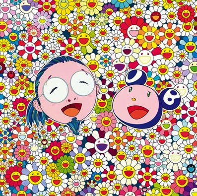 Me and Mr. Dob by Takashi Murakami at