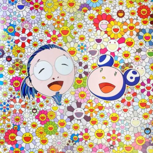 Me And Mr Dob by Takashi Murakami at Lougher Contemporary