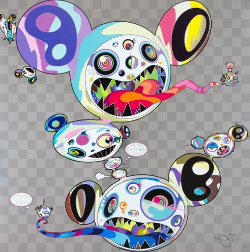 Parallel Universe by Takashi Murakami at Lougher Contemporary
