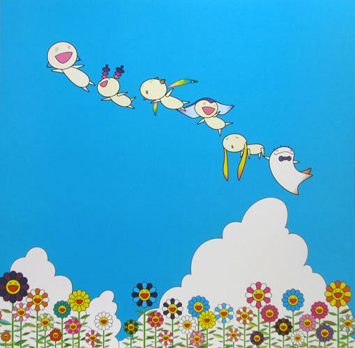 Planet 66: Summer Vacation by Takashi Murakami at Vogtle Contemporary