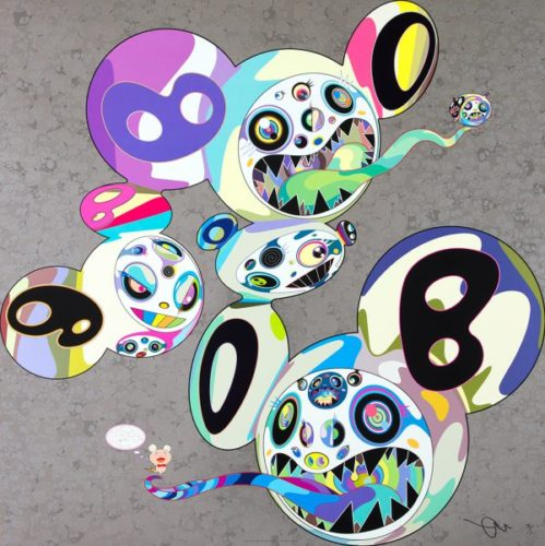 Spiral by Takashi Murakami