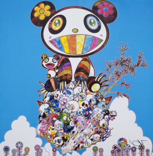 The Pandas Say They're Happy by Takashi Murakami at Lougher Contemporary