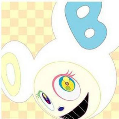 White Reverse Dob by Takashi Murakami