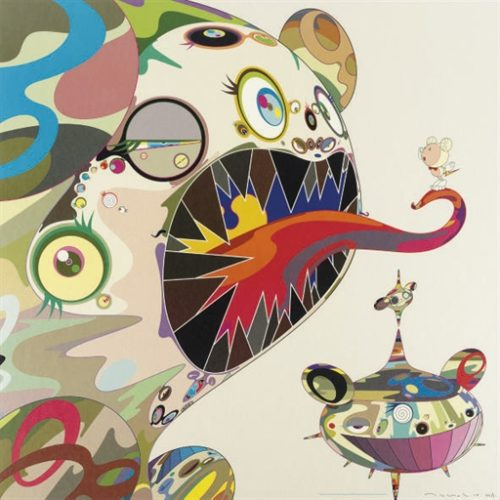 Hommage To Bacon (study Of George Dyer) by Takashi Murakami