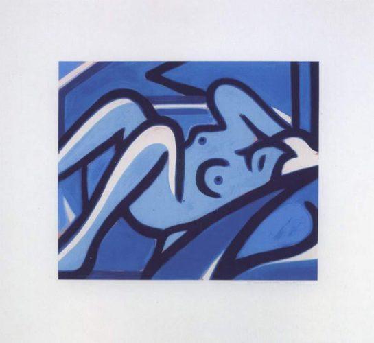 Blue Nude by Tom Wesselmann