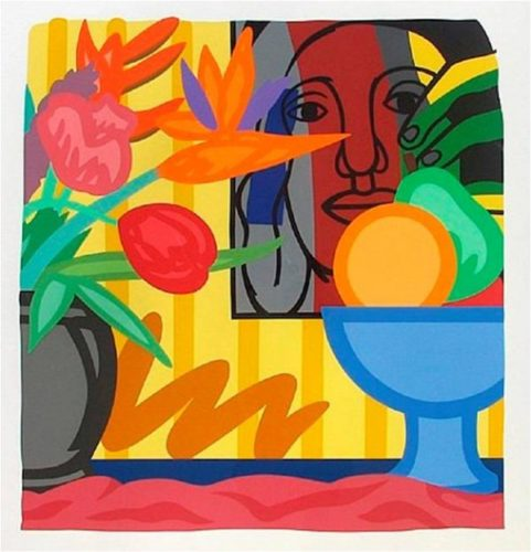Bouquet With Leger by Tom Wesselmann
