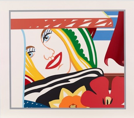 From Bedroom Painting, 1990 by Tom Wesselmann