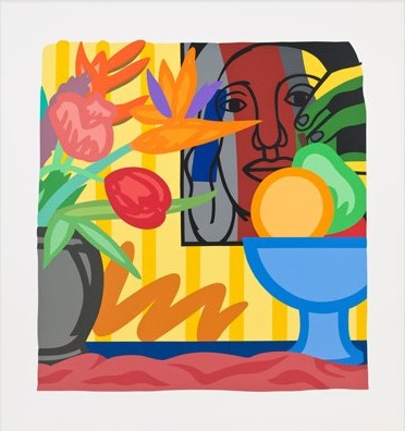 Mixed Bouquet With Leger, 1993 by Tom Wesselmann