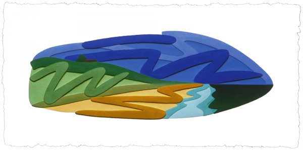 Seascape by Tom Wesselmann