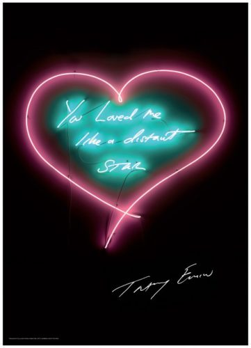 You Loved Me Like A Distant Star by Tracey Emin at Lougher Contemporary