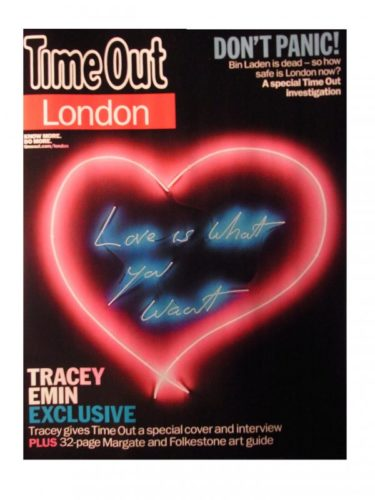 Love Is What You Want by Tracey Emin at