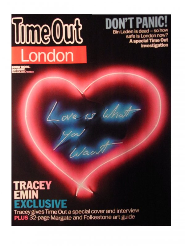 Love Is What You Want by Tracey Emin RA