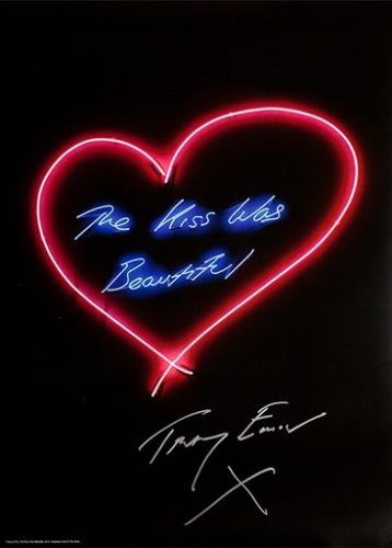 The Kiss Was Beautiful by Tracey Emin at