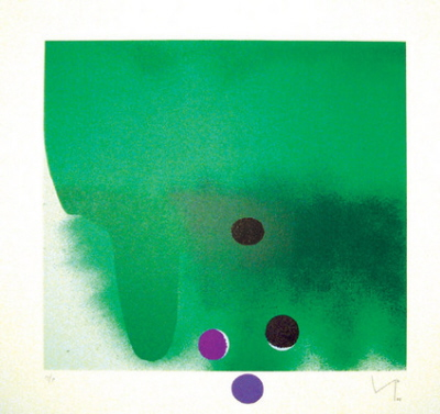 Green Darkness by Victor Pasmore