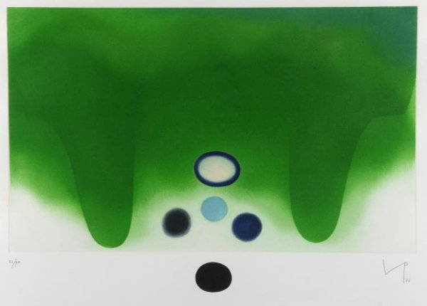 Green Darkness by Victor Pasmore at