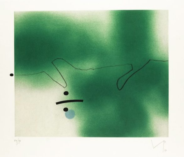 Linear Movement by Victor Pasmore at