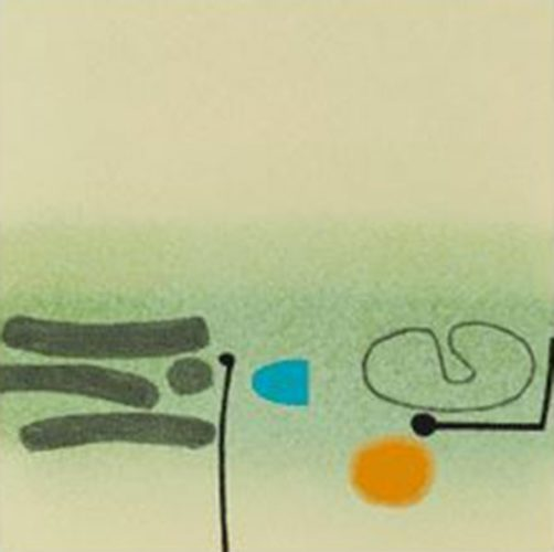 Points Of Contact 32 by Victor Pasmore at