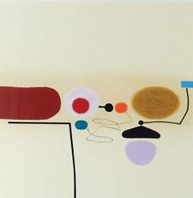 Points Of Contact 34 by Victor Pasmore at