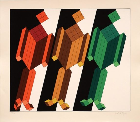 Almath. by Victor Vasarely at