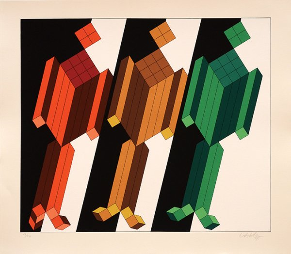 Almath. by Victor Vasarely