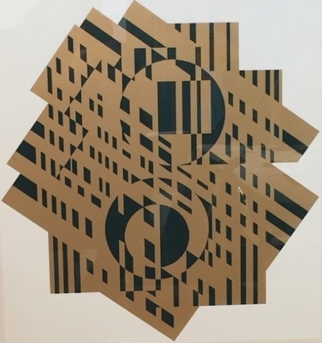 Composition Géométrique by Victor Vasarely
