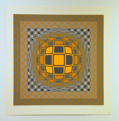 Zeng by Victor Vasarely at