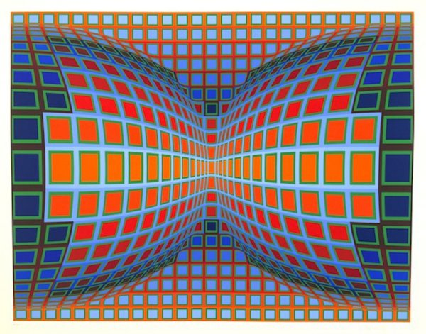 Papillon by Victor Vasarely at