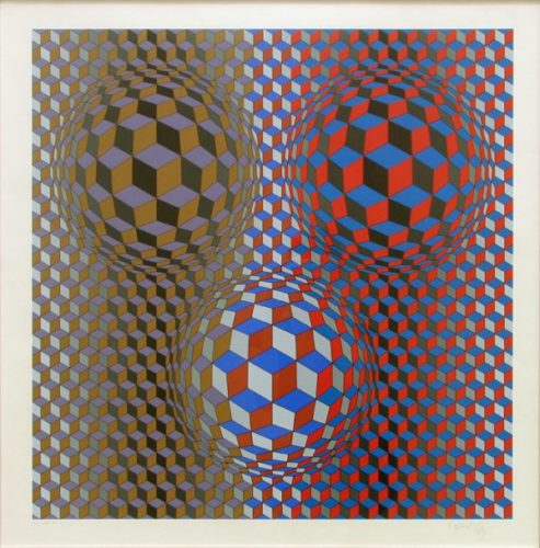 Nebulus Ii by Victor Vasarely at