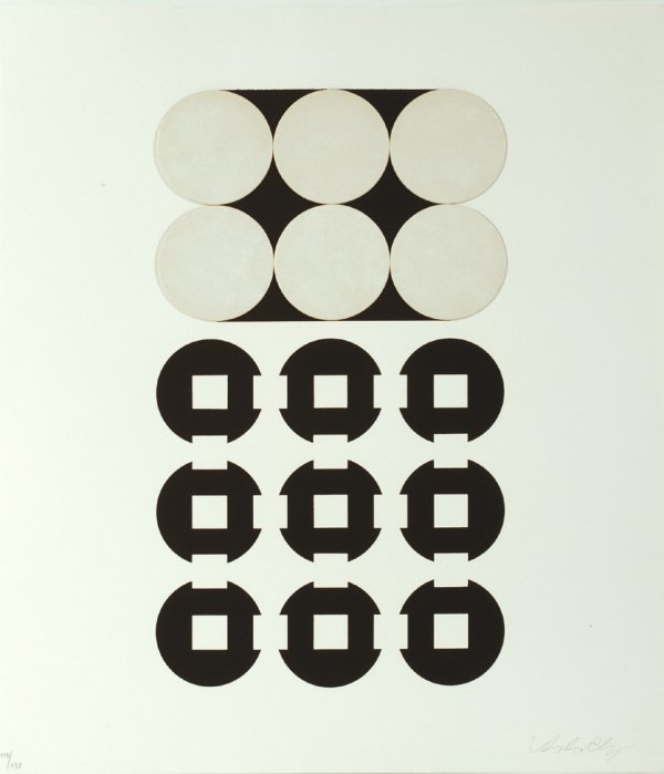 Procion. Collage Kinetique. 1969. by Victor Vasarely