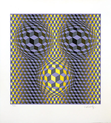 Rikka. by Victor Vasarely