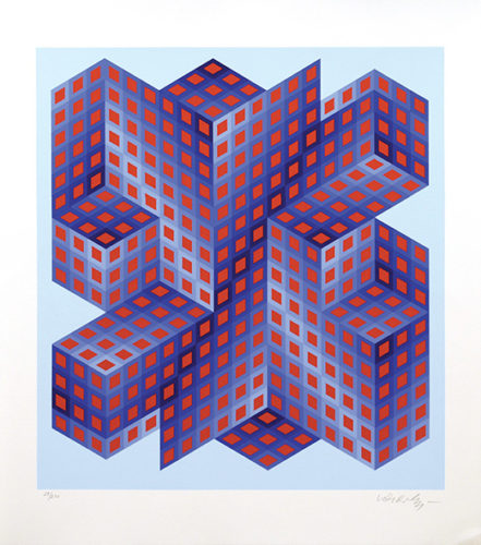 Sinvilag. by Victor Vasarely