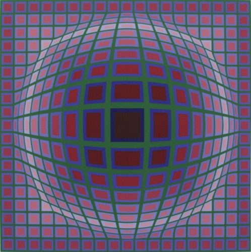 Titan A by Victor Vasarely at Victor Vasarely