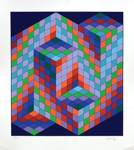 Vaar. by Victor Vasarely at