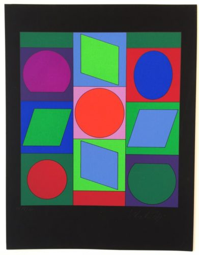 Zaphir by Victor Vasarely at Victor Vasarely