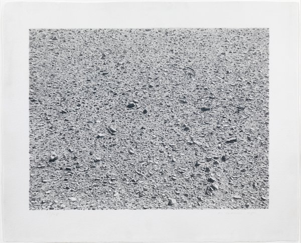Untitled (desert) by Vija Celmins