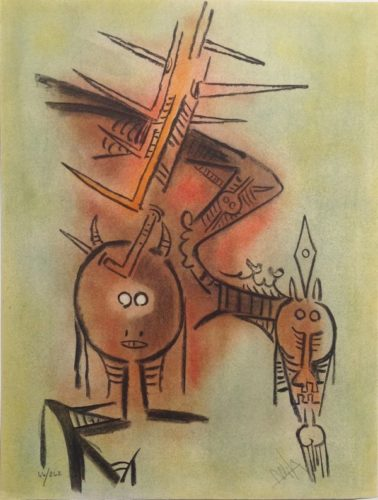 Belle Epine, From Pleni Luna by Wifredo Lam at