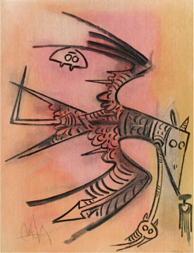 Lune Haute, From Pleni Luna by Wifredo Lam at