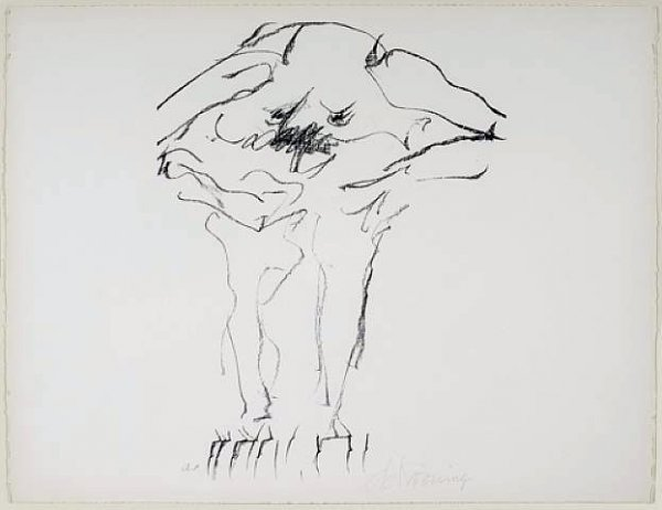 Clam Digger by Willem De Kooning
