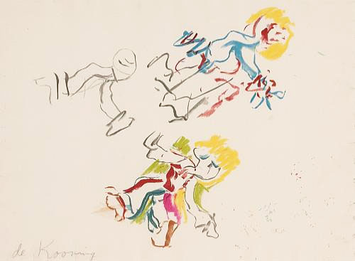 Composition For Lisa by Willem De Kooning
