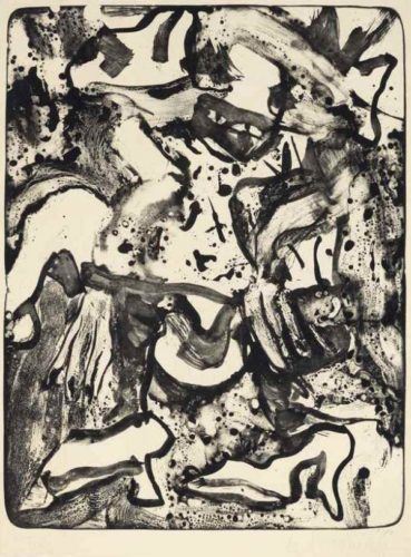 Minnie Mouse by Willem De Kooning at