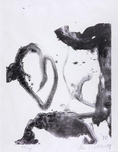 Valentine by Willem De Kooning at