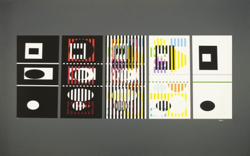 5 Phases by Yaacov Agam
